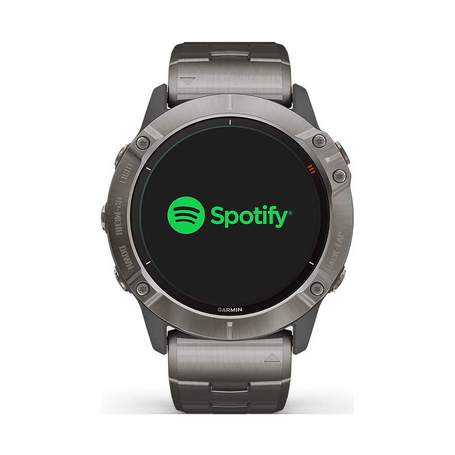 Garmin Smartwatch Fēnix 6X Pro Solar Titanium 010-02157-24