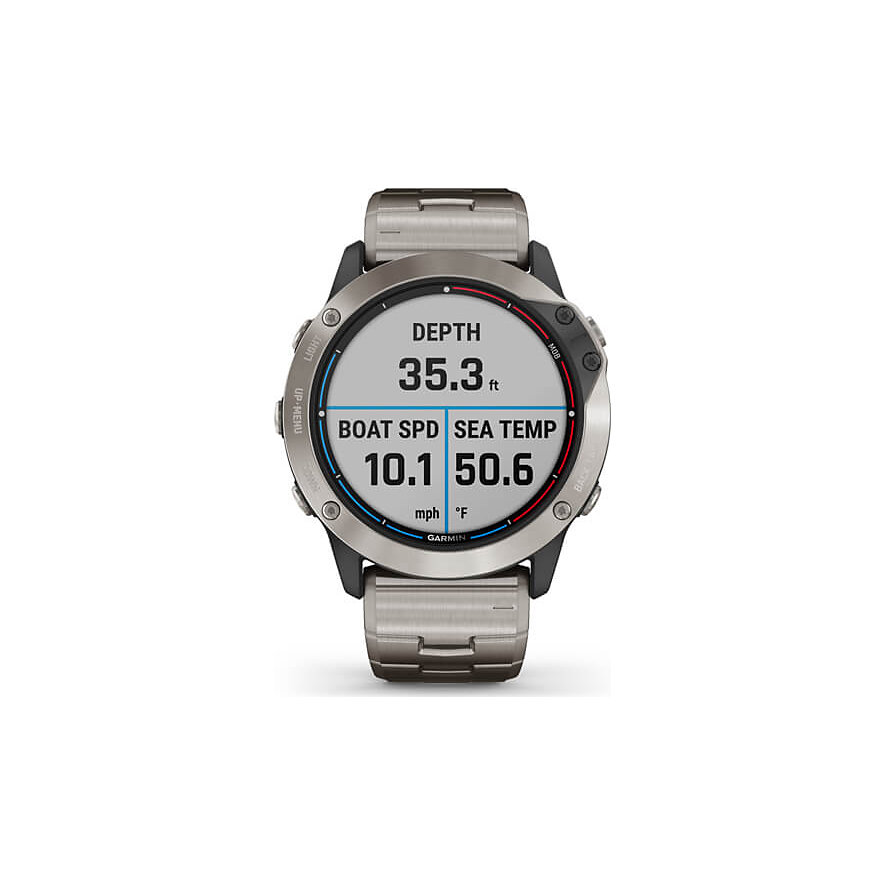 Garmin Smartwatch Quatix 6x Solar 010-02157-31