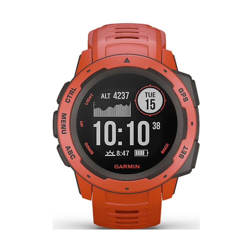 Garmin Uhr Instinct Flame Red 010-02064-02