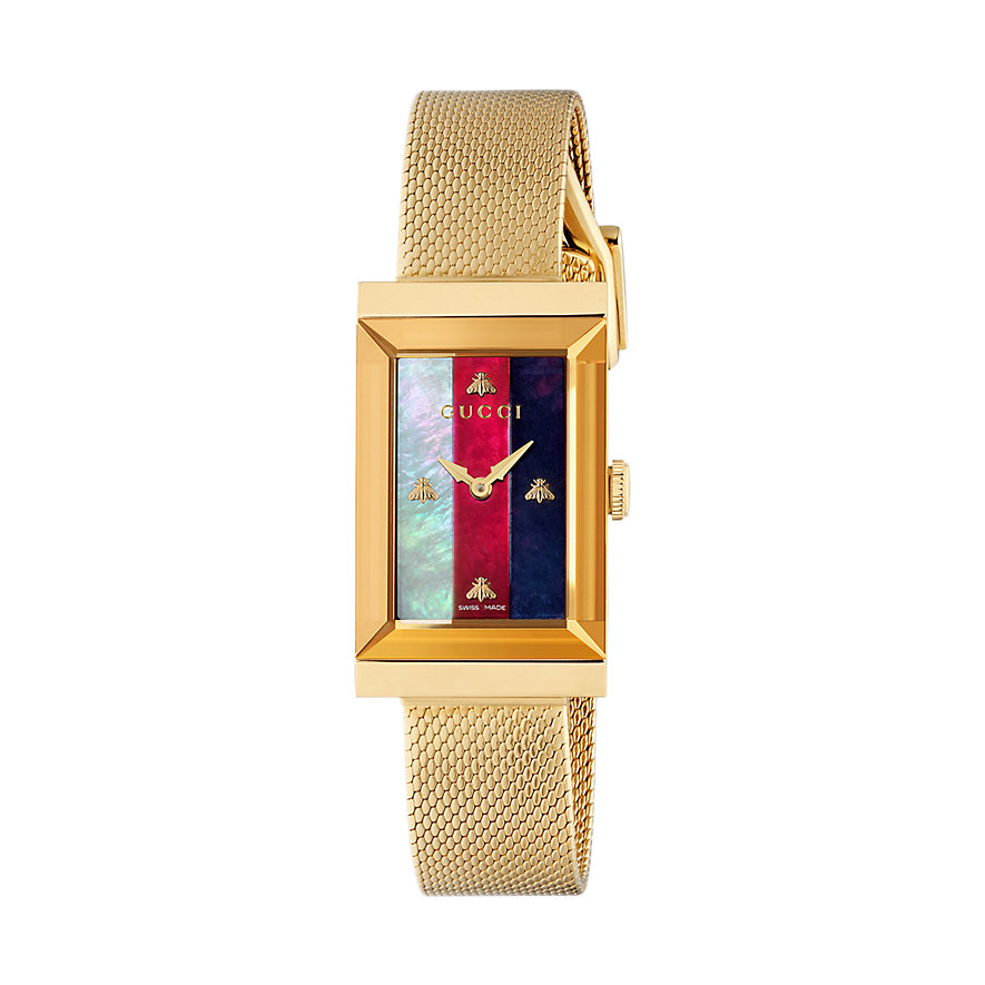 Gucci Damenuhr G-frame YA147410
