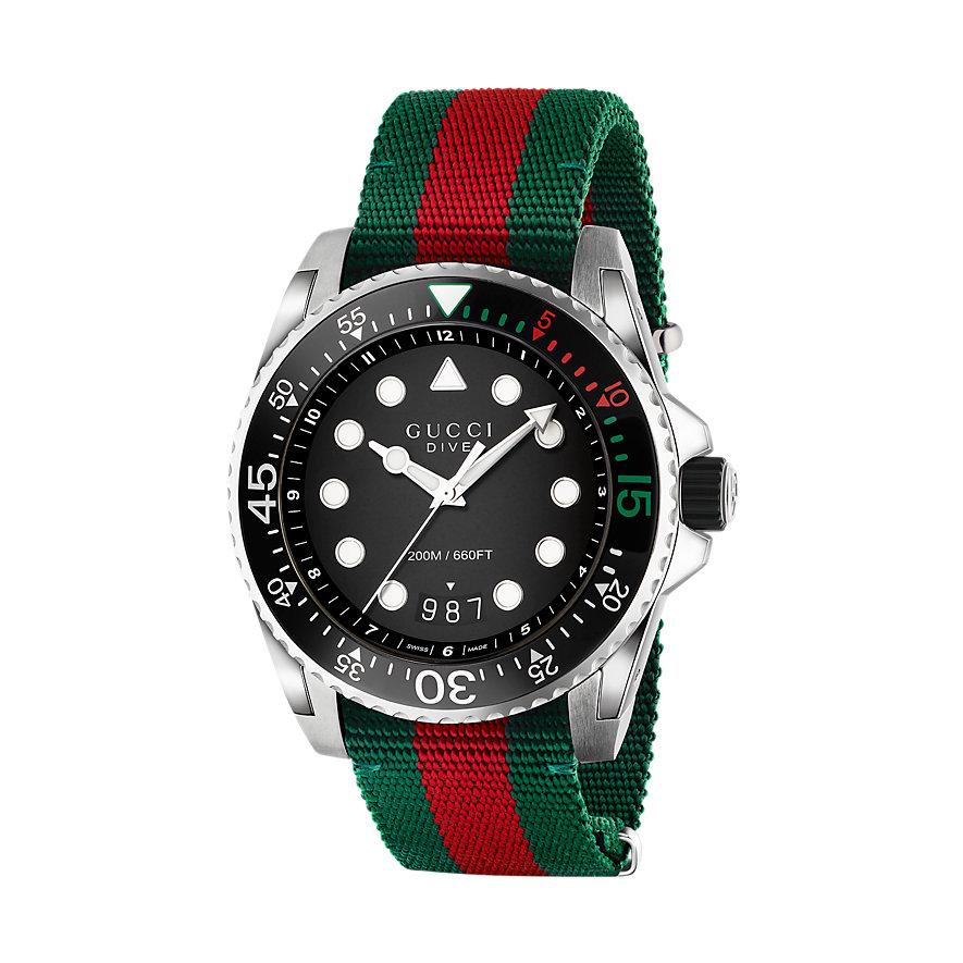 Gucci Herrenuhr Dive YA136209