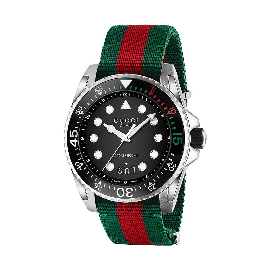 Gucci Herrenuhr Dive YA136209A