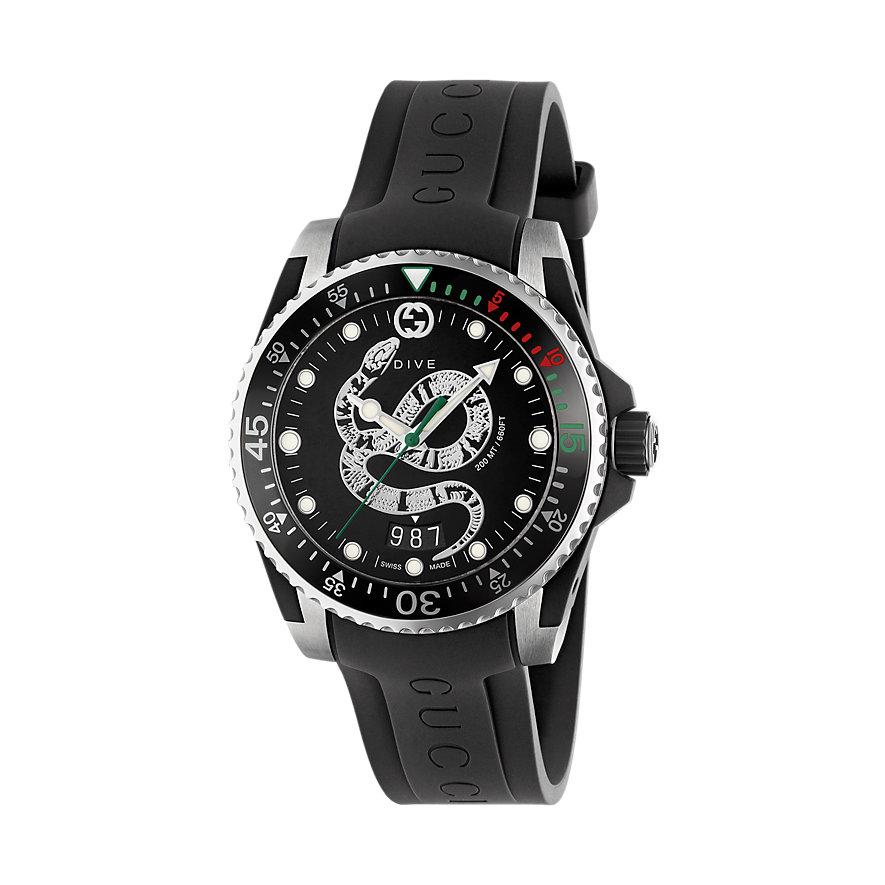 Gucci Herrenuhr Diver YA136323