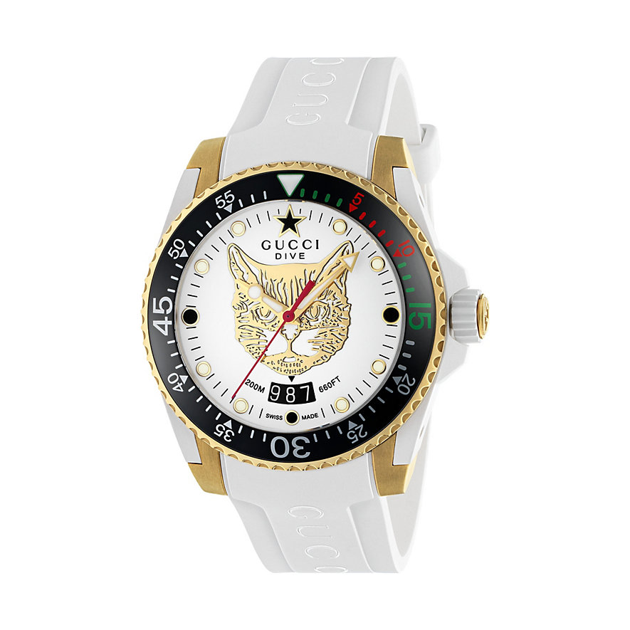 Gucci Herrenuhr Gucci Dive YA136322
