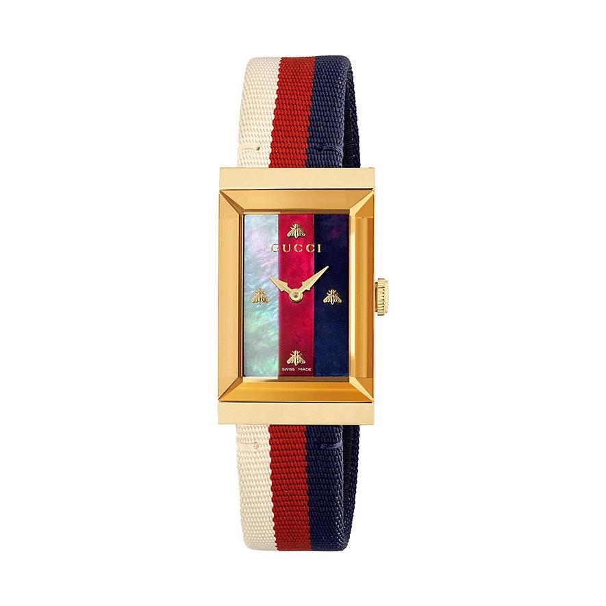 Gucci Unisexuhr G-frame YA147405