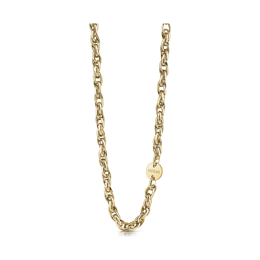 Guess Kette Oval Chain Coin UBN29039