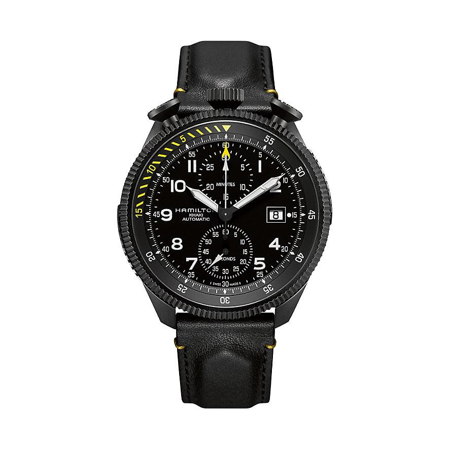 Hamilton Chronograph Khaki Aviation Take Off H76786733