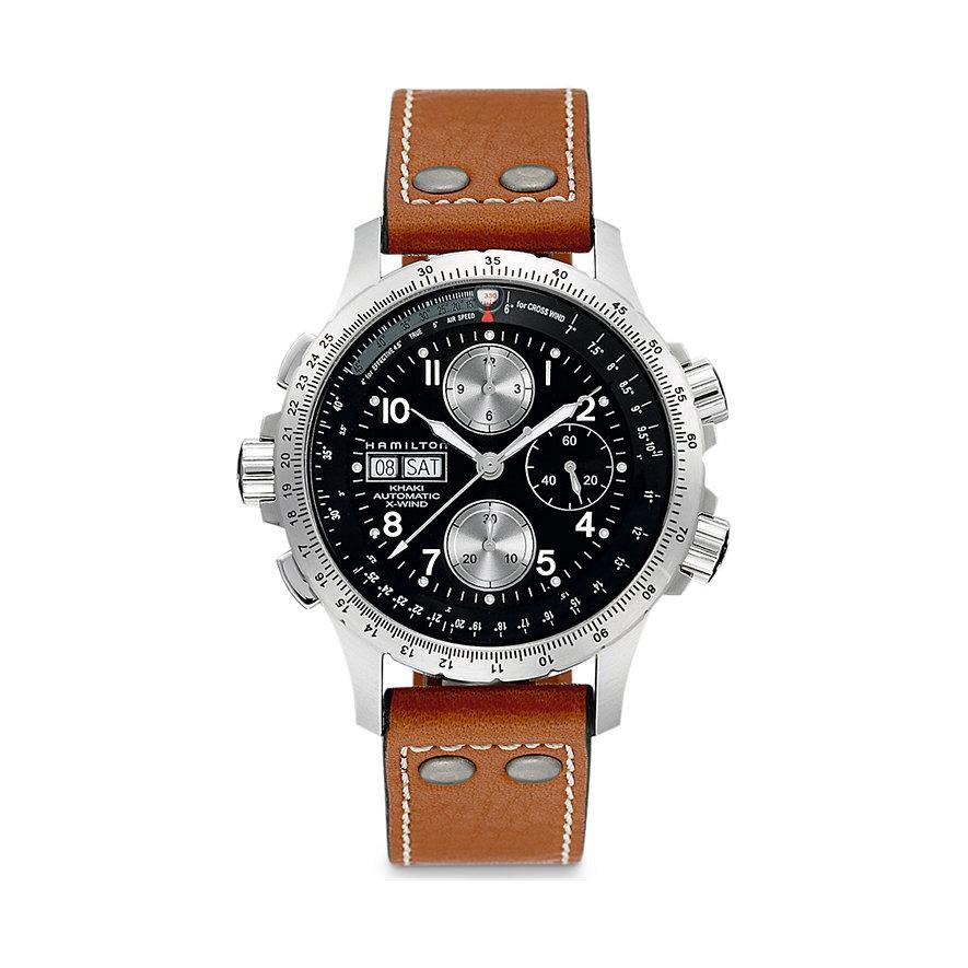 Hamilton Chronograph Khaki Aviation X-Wind Auto Chrono H77616533