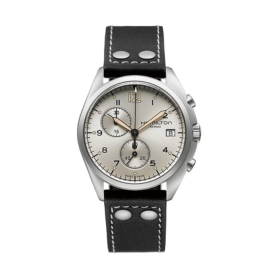 Hamilton Chronograph Khaki Pilot Pioneer Chrono Qua H76512755
