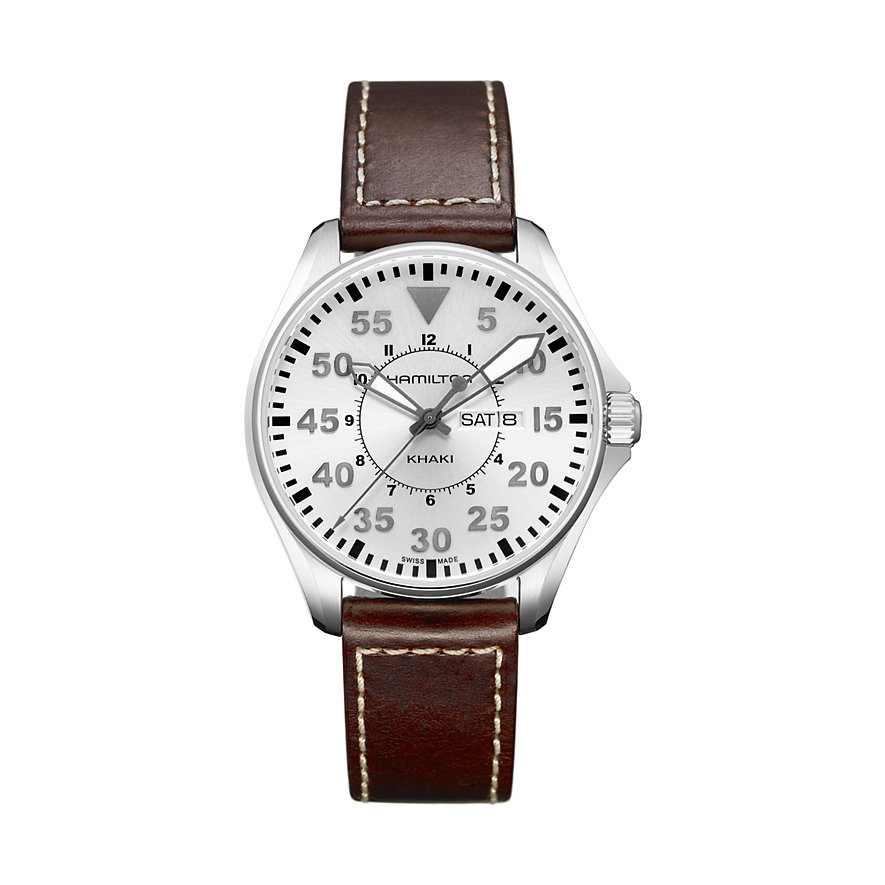 Hamilton Herrenuhr Khaki Aviation Pilot H64611555