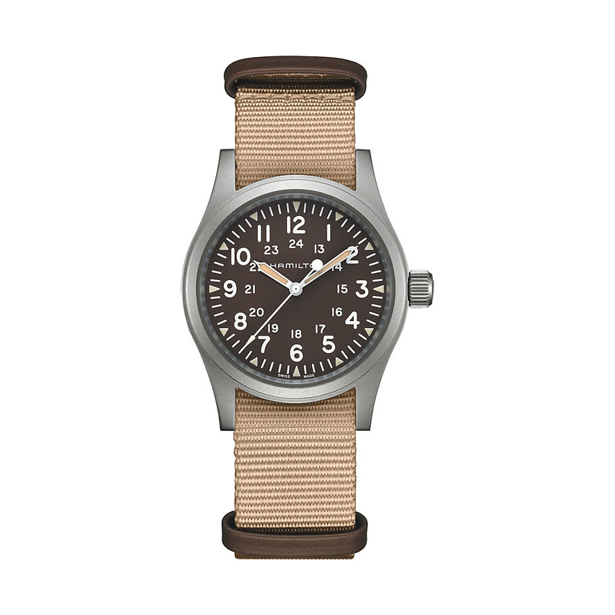 Hamilton Herrenuhr Khaki Field Mechanical H69429901