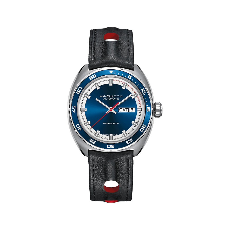 Hamilton Uhren-Set American Classic Pan Europ Day Date Auto H35405741