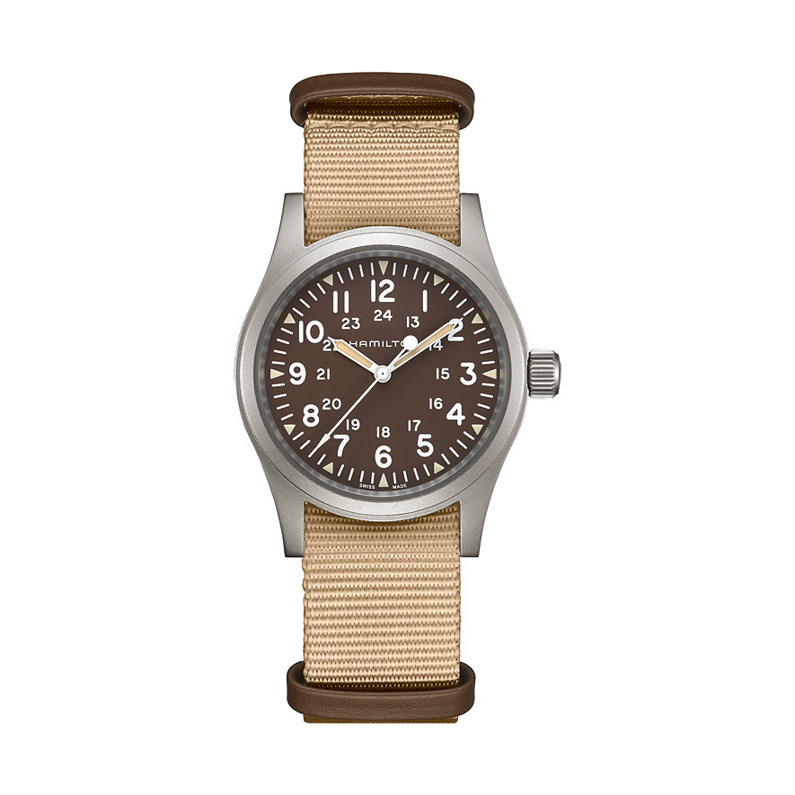 Hamilton Unisexuhr Khaki Field Mechanical H69439901