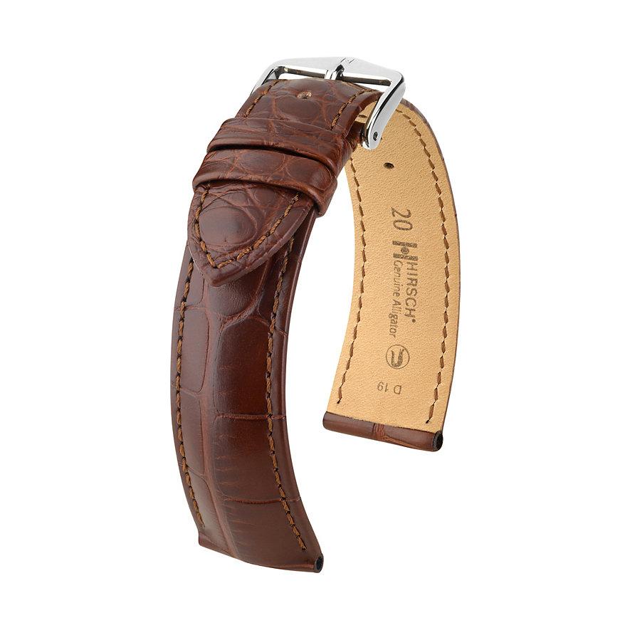 Hirsch Lederband Genuine Croco 10220719-2-18