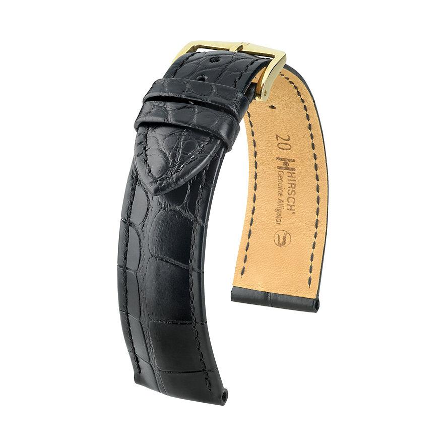 Hirsch Lederband Genuine Croco 10220759-1-20