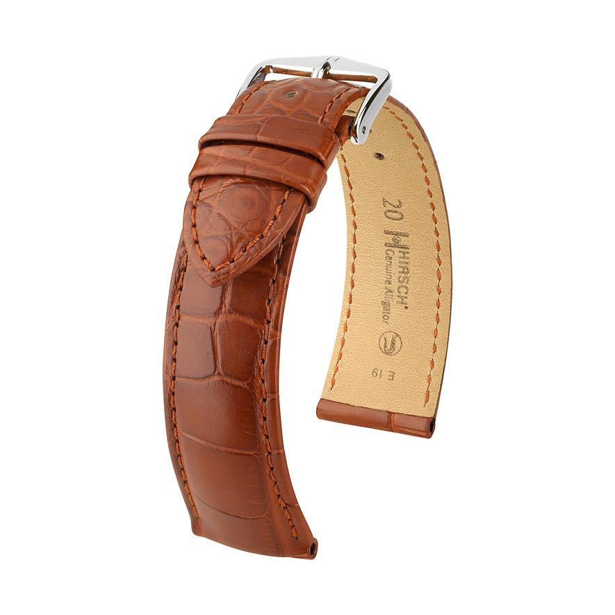 Hirsch Lederband Genuine Croco 10220779-2-18