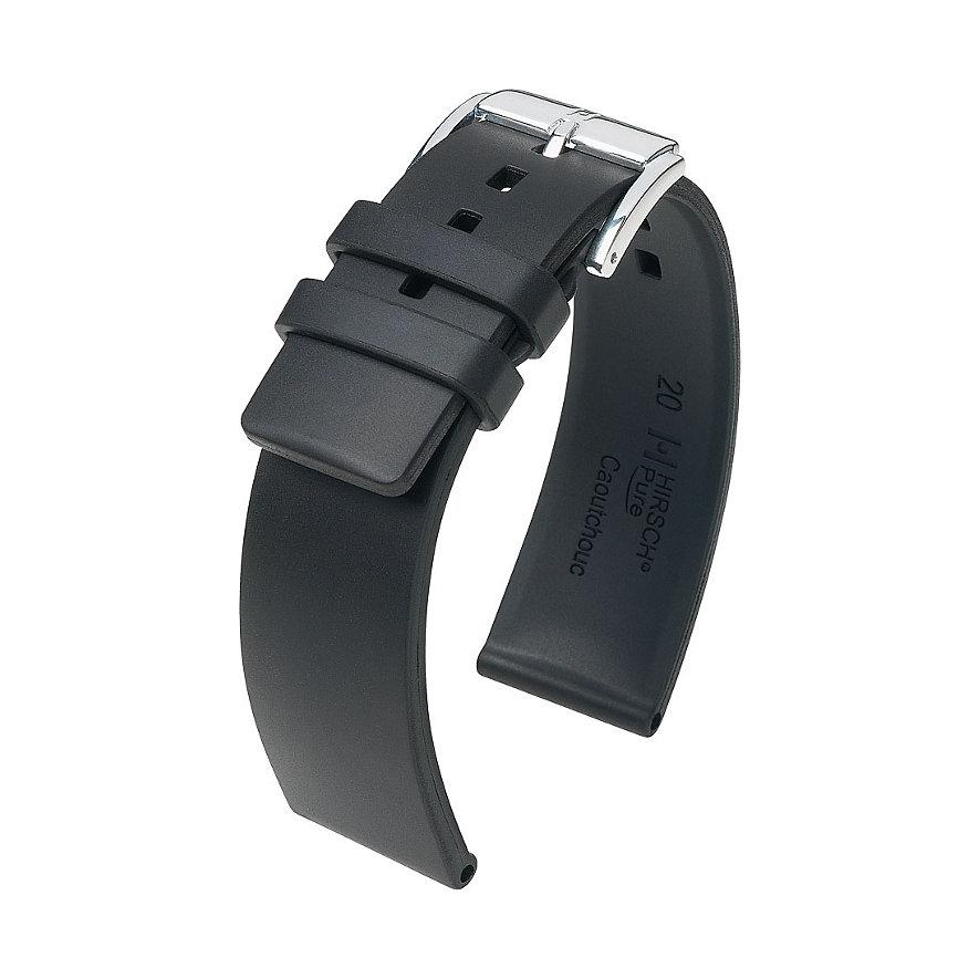 Hirsch Uhrenarmband Kautschuk Pure 40418800218