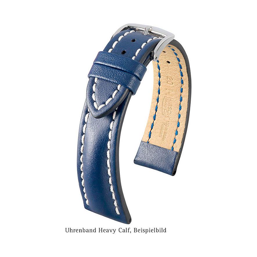 Hirsch Uhrenarmband Leder 01475010222