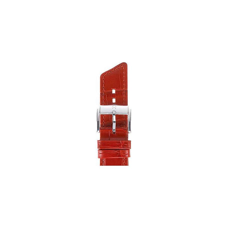 Hirsch Uhrenarmband Leder 02628120220