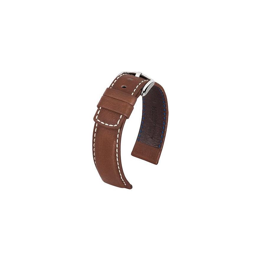 Hirsch Uhrenarmband Leder 10302810222