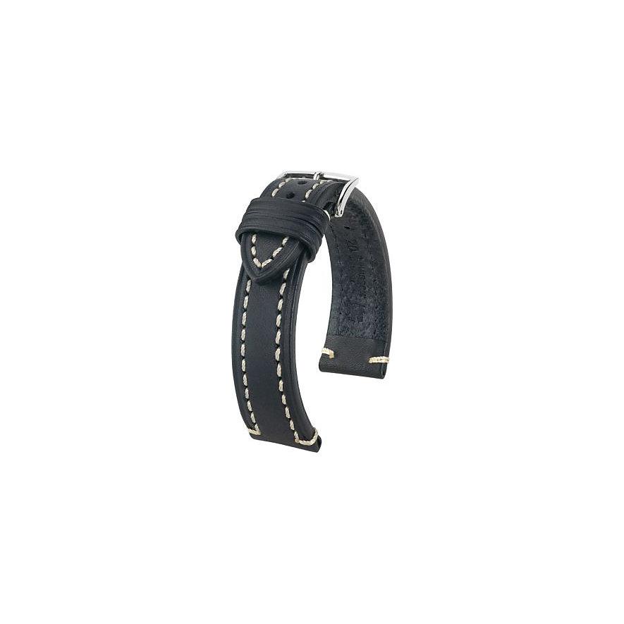 Hirsch Uhrenarmband Leder 10900250222