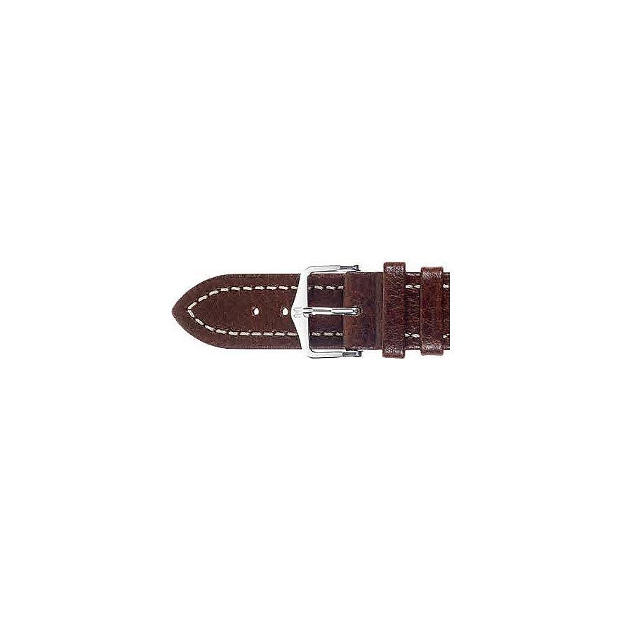 Hirsch Uhrenarmband Leder 11350215222