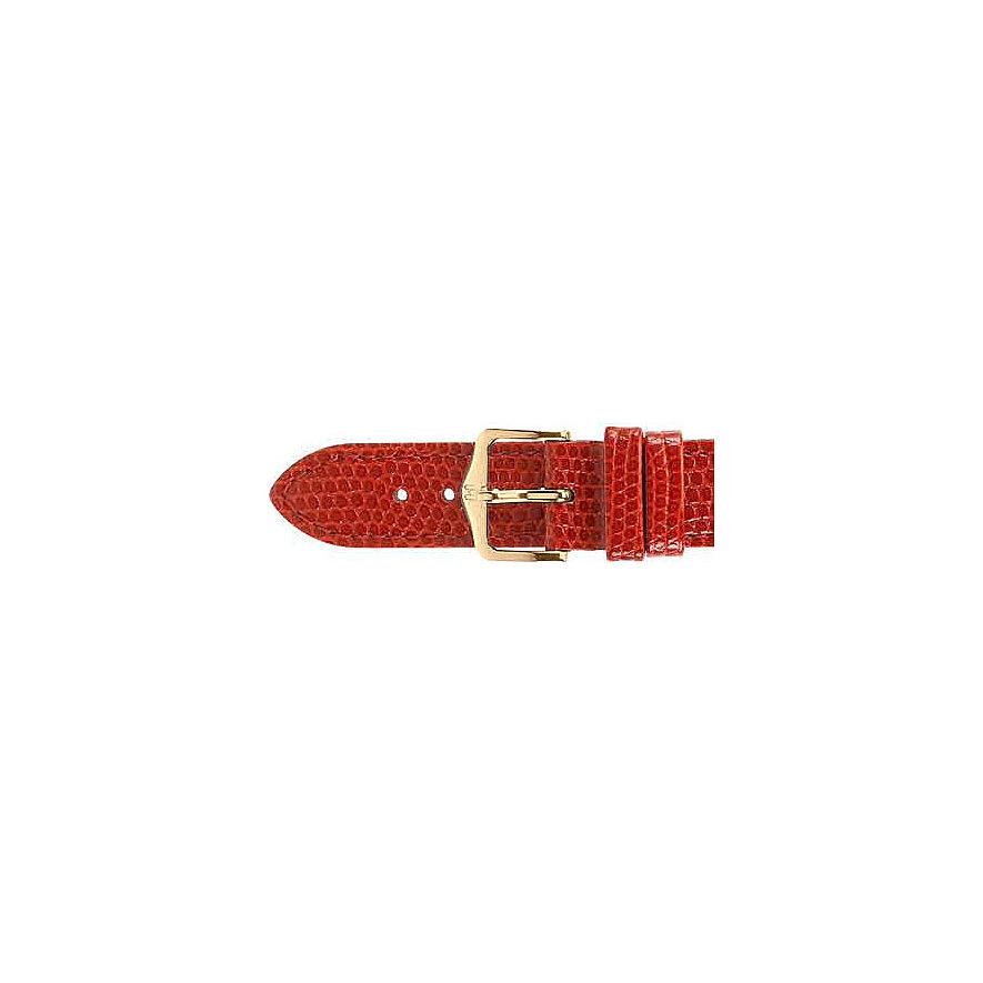 Hirsch Uhrenarmband Leder 12302650110