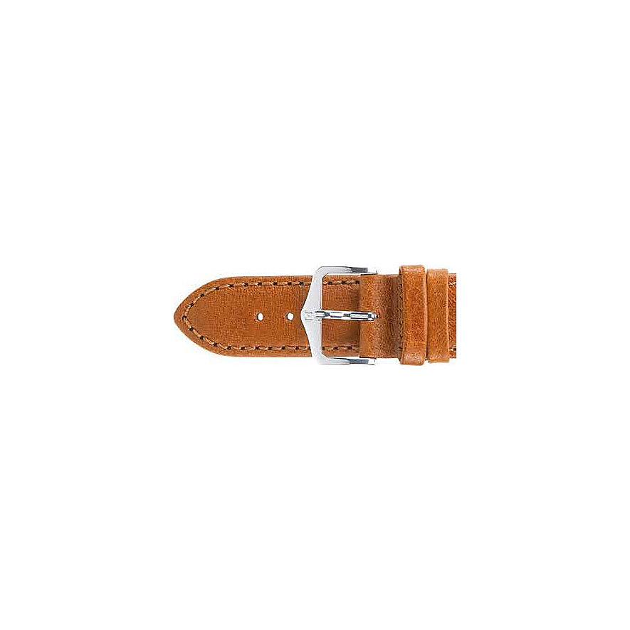 Hirsch Uhrenarmband Leder 17900270214