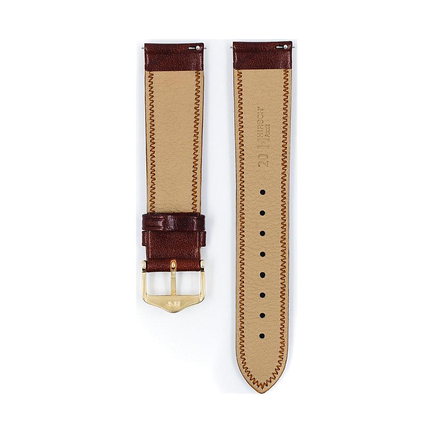 Hirsch Uhrenarmband Leder Ascot 01575070119
