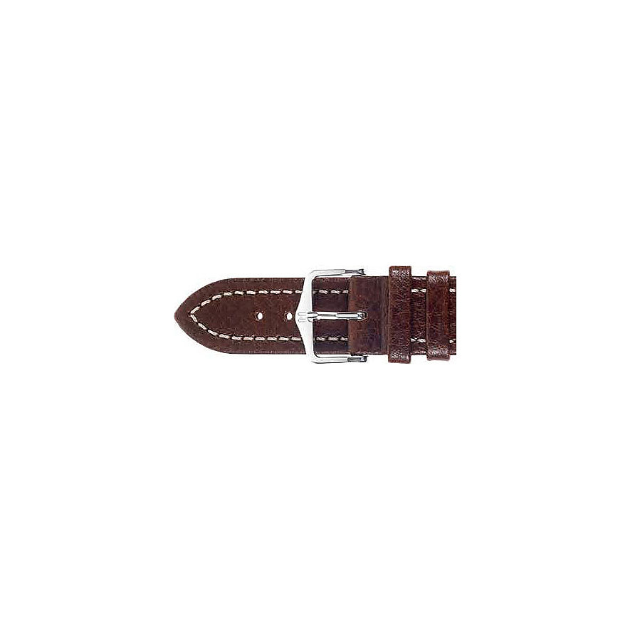Hirsch Uhrenarmband Leder Buffalo 11350215220