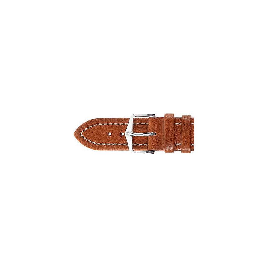 Hirsch Uhrenarmband Leder Buffalo 11350275218