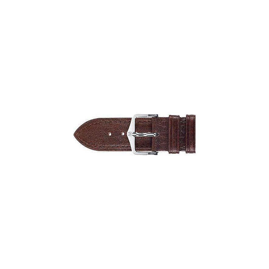 Hirsch Uhrenarmband Leder Camelgrain 01009215-2-20