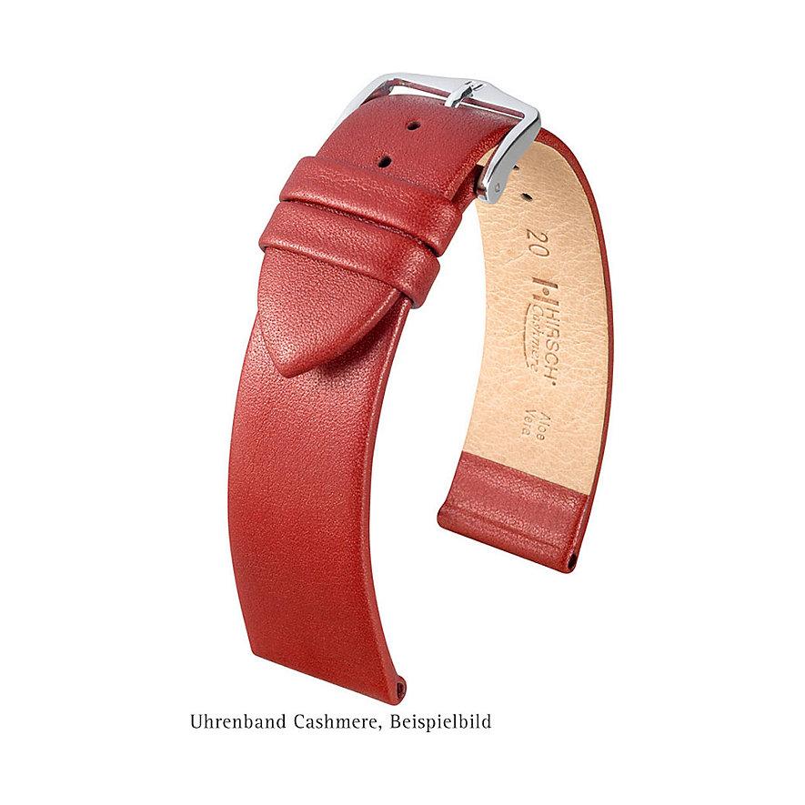 Hirsch Uhrenarmband Leder Cashmere 03902160118