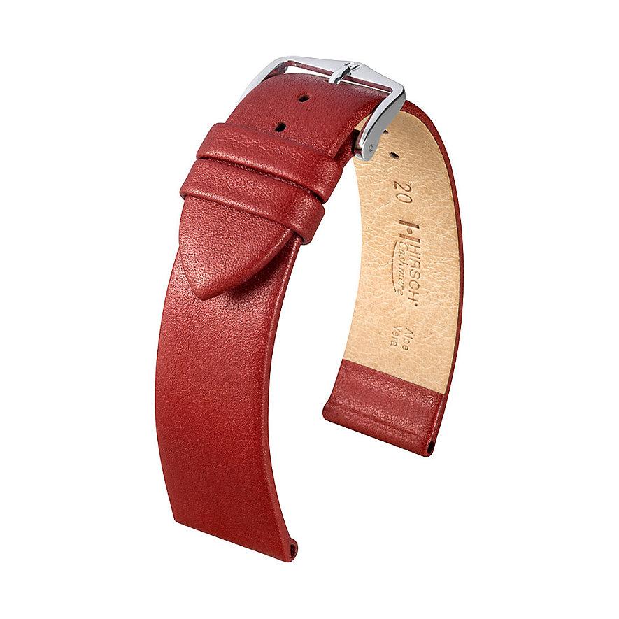Hirsch Uhrenarmband Leder Cashmere 03902160220
