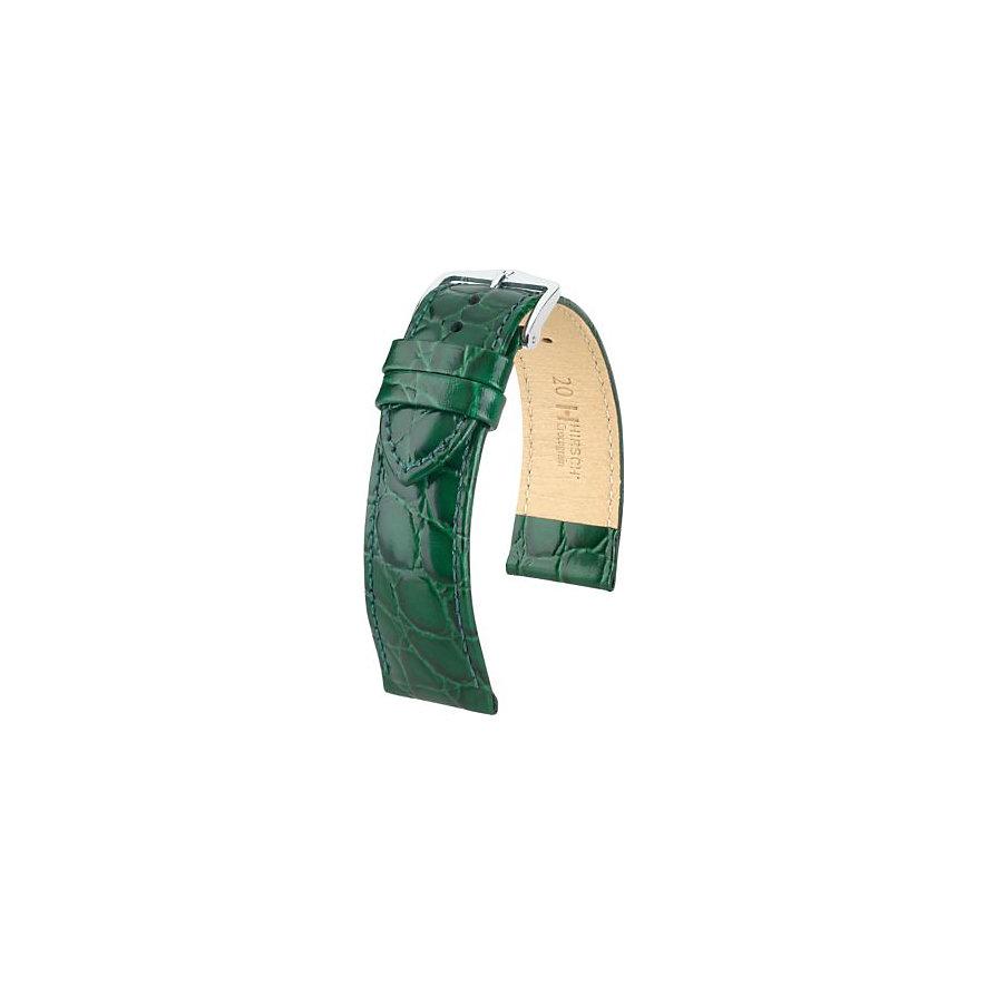 Hirsch Uhrenarmband Leder Crocograin 12302840220