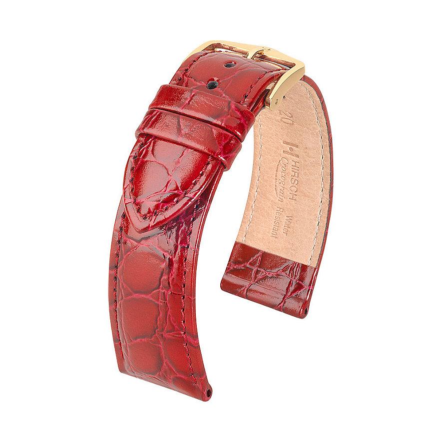 Hirsch Uhrenarmband Leder Crocograin 12302860116