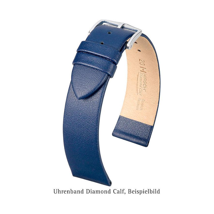 Hirsch Uhrenarmband Leder Diamond Calf 14100250OE108