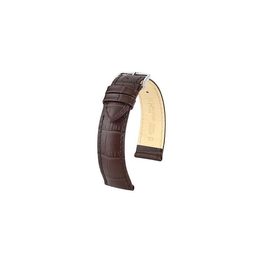 Hirsch Uhrenarmband Leder Duke 01028010221