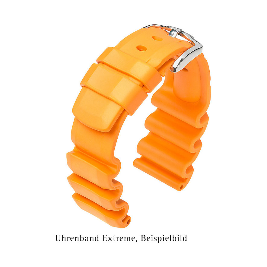 Hirsch Uhrenarmband Leder Extreme 40498850222