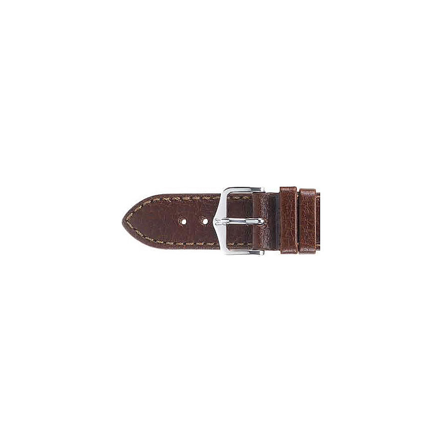 Hirsch Uhrenarmband Leder Forest 17900250220
