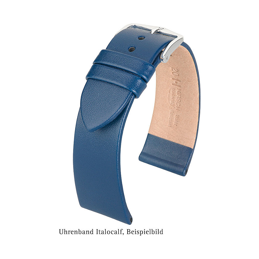 Hirsch Uhrenarmband Leder Italocalf 17802050114