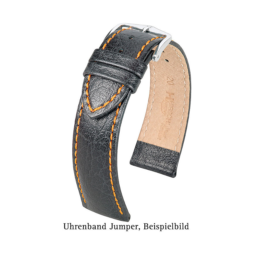 Hirsch Uhrenarmband Leder Jumper 04402080222