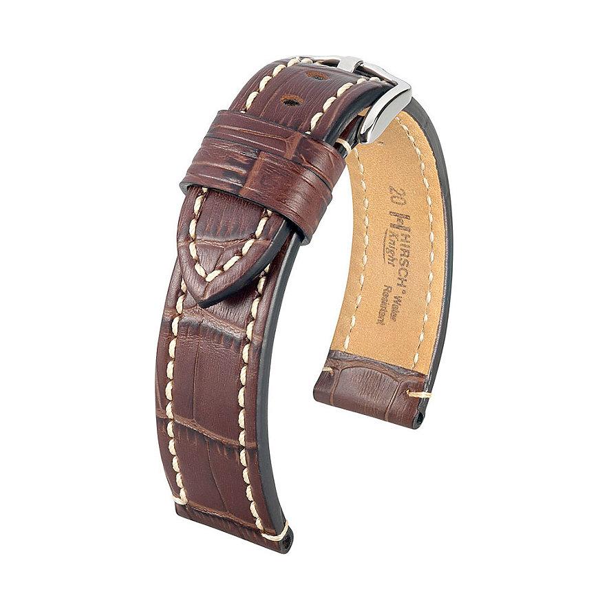 Hirsch Uhrenarmband Leder Knight 10902810224