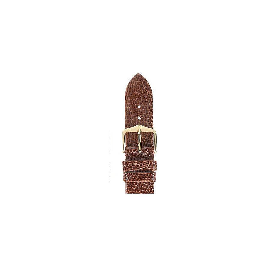 Hirsch Uhrenarmband Leder Lizard 01766070118