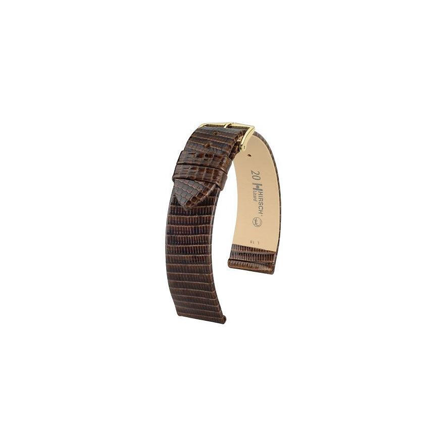 Hirsch Uhrenarmband Leder Lizard 01766110115