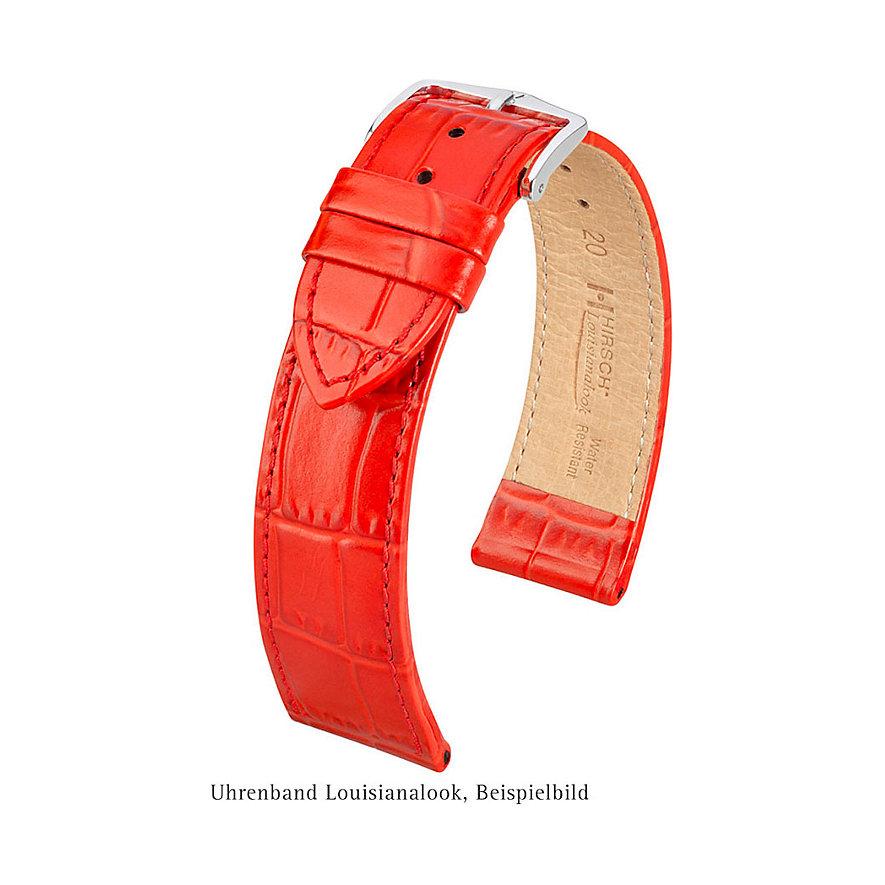 Hirsch Uhrenarmband Leder Loisianalook 03427100-1-16