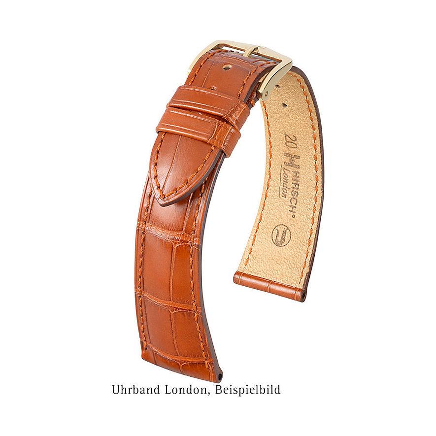 Hirsch Uhrenarmband Leder London 04207019-1-21