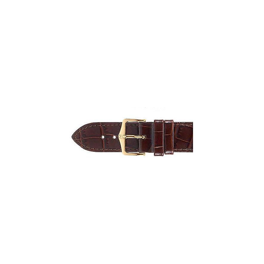 Hirsch Uhrenarmband Leder Louisiana l 03427110-1-18