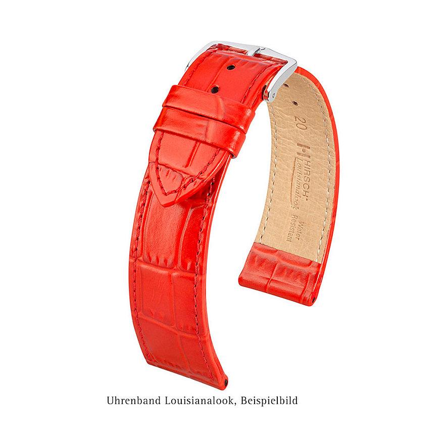 Hirsch Uhrenarmband Leder Louisianalook 03427050-2-18