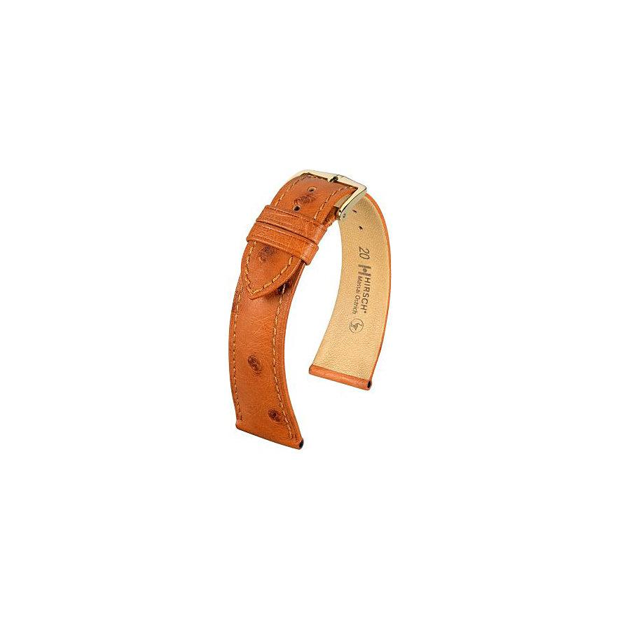 Hirsch Uhrenarmband Leder Massai Ostrich 04262070119